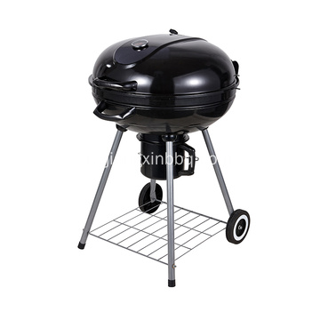 22.5 Inch Charcoal Kettle Barbecue Grill Zwart
